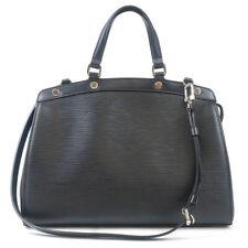 Authentic Louis Vuitton Epi Brea MM 2Way Hand Bag Noir Black M40329 Used F/S