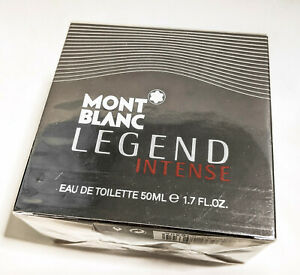Montblanc Legend Intense Eau de Toilette 50ml / 1.7oz spray new Free Shipping!