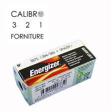 1 batteria ENERGIZER 387S SR1136SW 394/380 SPACER 1,55V orologi BULOVA ACCUTRON