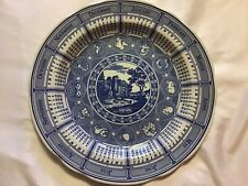 "More details for 10"" the spode  blue room calendar plate  2003 classic landscape"