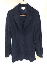 New NOS Vintage 1970s Jantzen Sports Coat Jacket Blazer Navy Blue Polyester 16
