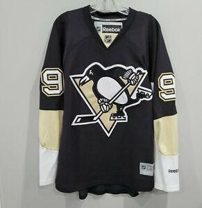2012 Reebok Premier NHL Pittsburgh Penguins Pascal Dupuis 9 Black Jersey Mens S