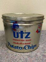 Vintage UTZ Potato Chip Advertising Tin-Hanover, PA-1 Pound