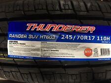 4 NEW 245/70-17 Thunderer Ranger SUV HT603  Tires 245 70R17 70R 2457017