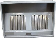 Commercial Kitchen Stainless Steel /Canopy/hood 5ft/1.5 metre MANY IN STOCK !!