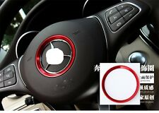 AUTO DECORATION PARTS Cool Car Steering Wheel Center Logo Ring For Mercedes Benz
