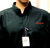 New Oracle Shirt Mens Large Long Sleeve Computer Software DB Munsingwear Penguin