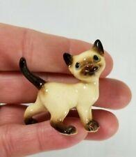 Hagen Renaker Tom Cat Siamese Miniature Figurine