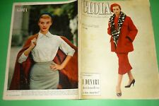 Joy 1956 Mode Italie + Grace KELLY Rainier Savoie + Dona Alberich + Liliana