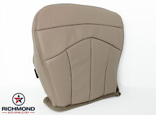 2001 Ford F-150 Lariat -Driver Side Bottom Replacement Leather Seat Cover TAN