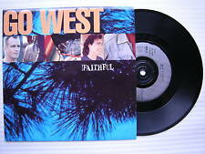 Go West - Faithful / I Want You Back, Chrysalis GOW-9 Ex+ Condition