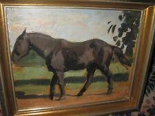 POUGHEON Eugene Robert, *1886 Museales Pferdebild