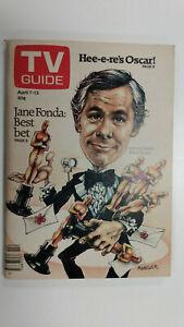 TV GUIDE Canada JOHNNY CARSON - OSCARS  Vol 3 #14 - April 7 1979 - Issue No. 119