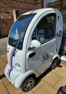 2020 'HERBIE' CABIN CAR MOBILITY SCOOTER WITH WIPERS / HEATER ETC inc WARRANTY