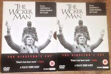 The Wicker Man (DVD, 2002) THE DIRECTOR'S CUT 2-DVD BOX SET EDWARD WOODWARD