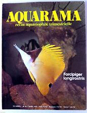 AQUARAMA, Revue Aquariophile n°42; La maladie des Néons/ l'écologie/ Mal aimé