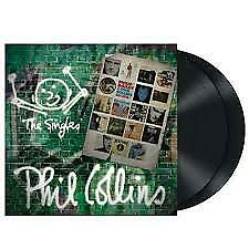 Phil Collins - The Singles LP, brand new, Double LP One more night, true colors