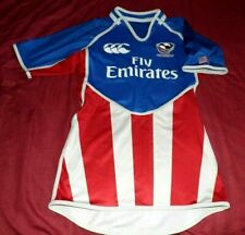 Maillot De Rugby De Match Des Etats Unis USA Saison 2011/2012 Taille L
