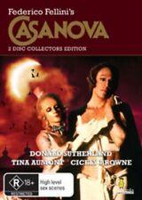CASANOVA - COLLECTOR'S EDITION (DIR: FEDERICO FELLINI) BRAND NEW!!! SEALED!!!