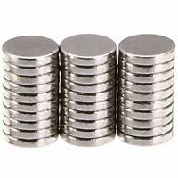 100Pcs 5x1mm Rare Earth Round Disc Fridge Craft Strong N35 Neodymium Magnets New