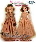 PDF Doll Clothes Pattern Fits Fairyland Minifee Ellowyne Slim 1/4 MSD BJD Dolls