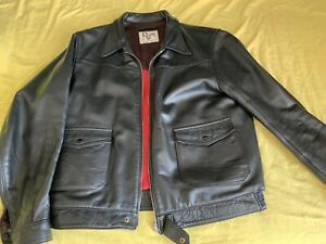 lewis leather motorcycle  Lumber Jacket  44 Chest