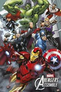 The Avengers Poster Marvel Comics 61 x 91,5 cm Plakat Wanddeko Deko