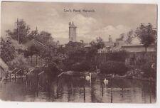 Cox's Pond Harwich Essex J.T. Cox Postcard, B715