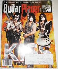 Guitary Player Magazine Kiss & 5 Multi-Fx Pedalboards Holiday 2009 08251R
