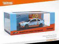 Tarmac Works 1/64 Mitsubishi Lancer Evo X Rally Finland 2010 Gulf Racing