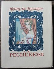 George BARBIER Régnier - La Pêcheresse - 1924 Editions Mornay ex. num. sur Rives
