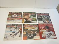 2007 Lot of 19 The Hockey News NHL Issues-Anaheim Ducks Stanley Cup Sid The King
