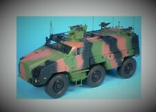 MASTER FIGHTER 1/48 MILITAIRE TITUS NEXTER CHASSIS TATRA VERT CAMO ref48578VC