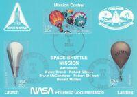 Space Shuttle - 1984 / NASA Philatelic Documentation