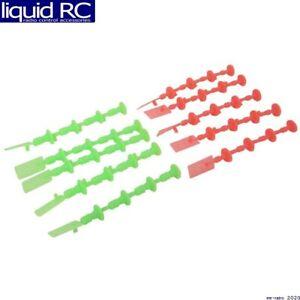Estes 2250 1/4A 1/2A A3 A10 Starter Plugs 5 Orange 5 Green