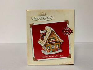 Gingerbread Cottage 2002 Hallmark Keepsake Ornament