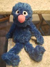 GUND Sesame Street Grover monster Plush Blue Soft Toy 14'' EUC