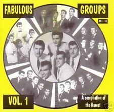 V.A. - FABULOUS GROUPS Vol. 1 - The Best of the Rare CD
