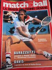 Matchball 20 1981 Barazzutti tricolore a Reggio Emilia