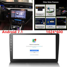 "10.1""Single 1DIN System Car Android 7.1 Stereo Radio Player WIFI GPS Safe Device"