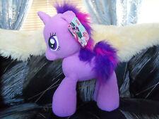 """Large MY LITTLE PONY Twilight Sparkle Unicorn 16"""" Plush Toy Stuffed"""