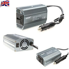UK 400W Power Inverter Car DC 12V to 230V AC Inverter Adapter USB Charger
