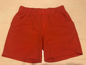 Simms Fishing Women's Drifter Short, Size M Coral Color Fishing Shorts