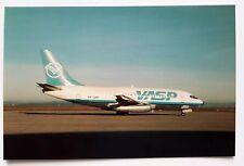 VASP Boeing 737-269 Postcard