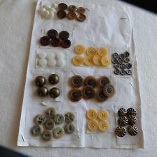 Knöpfe Konvolut Knopf verschiedene Farben neu gebraucht weiß braun metall Tracht
