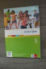 Green Line 3 Workbook mit Audio-CD`s und Lernsoftware Klett Verlag gut erhalten