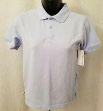 George Nwt Boys Blue School Uniform Polo Shirt Top Size M 8