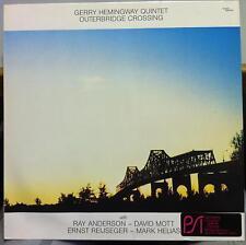 GERRY HEMINGWAY QUINTET outerbridge crossing LP Mint- SAS 017 German 1987 Record