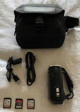 Sony Hdr-Cx230 8Gb Hd Digital Camcorder Bundle - Black
