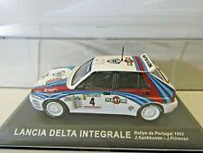IXO Altaya 1:43 Scale Diecast Lancia Delta Integrale Portugal 1992 J. Kankkunen